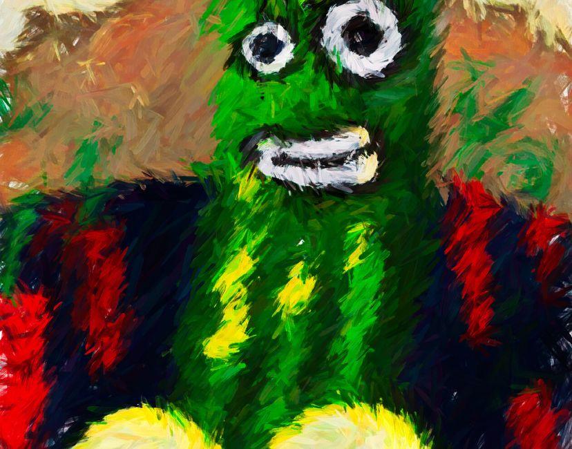 Nft Damned Creepy Pickle