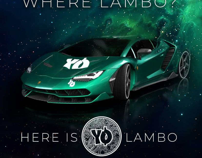 Nft Wen YOCO Lambo 20/100
