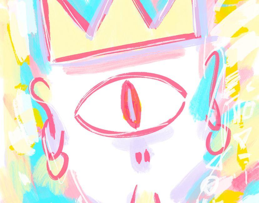 Nft Alien King | Naked King #10