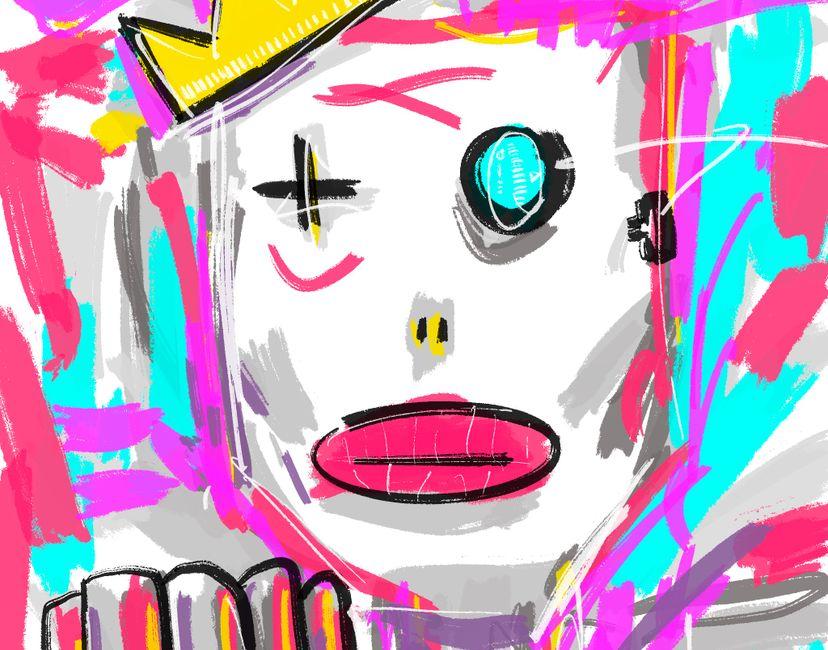 Nft Robot King | Naked Kings #9