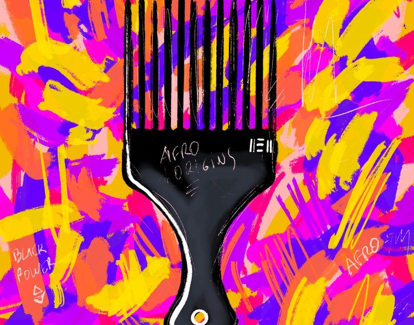 Nft Afro Comb #2