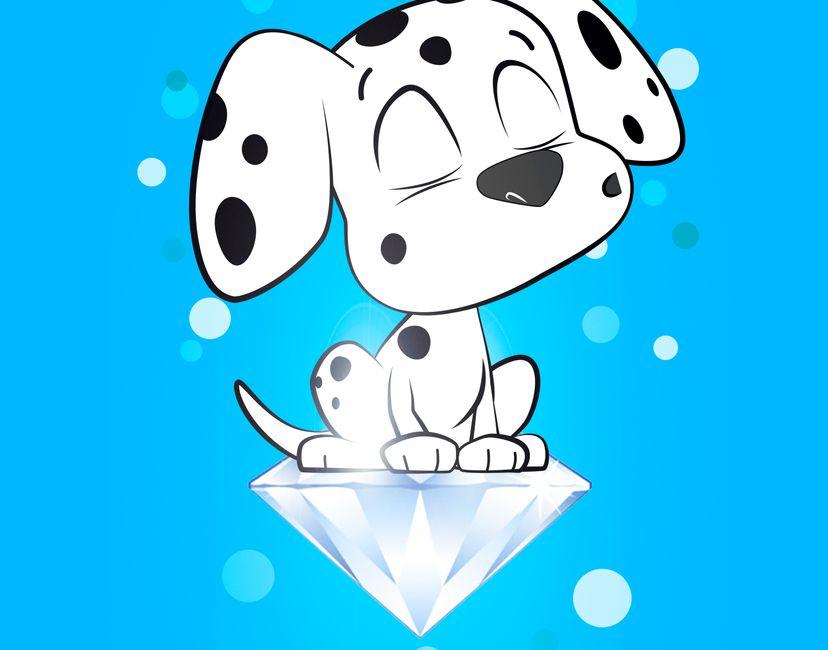 Nft Babydot Diamond Paws