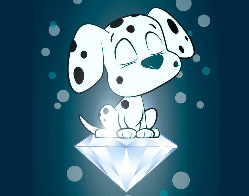 Nft Babydot Diamond Paws Rare