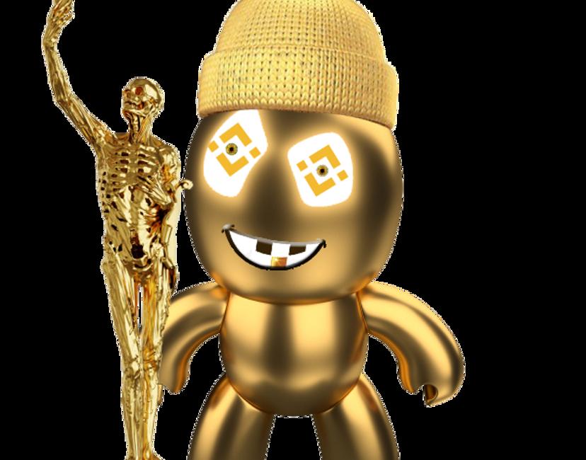 Nft GoldenBNB Selfie