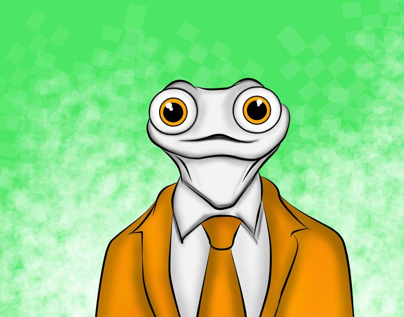Nft Rockstar lizard #2