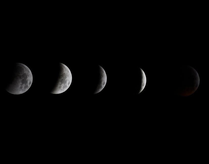 Nft Luna de Sangre - blood Moon