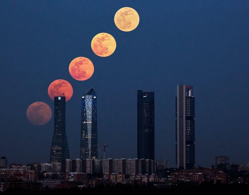 Nft Súper Moon Madrid