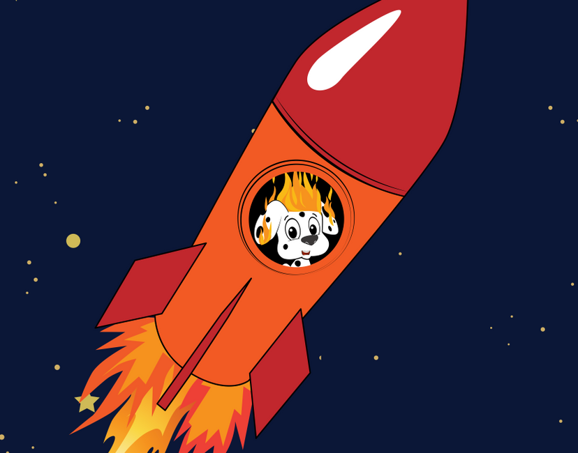 Nft The rocket dot
